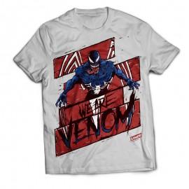 Футболка с авторским рисунком We are Venom ПРЕДЗАКАЗ