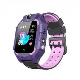KIDDO WATCH 2G GPRS GELIKON LINE 3019 Детские Умные-часы, Фиолетовый (DarkSky Purple)