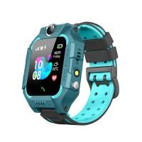 KIDDO WATCH 2G GPRS GELIKON LINE 3019 Детские Умные-часы, Голубой (Cyan-Blue)