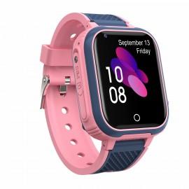 4G KIDDO Watch GELIKON LINE 3021 GPS Детские Умные-часы c GPS трекингом и мониторингом температуры, Розовый