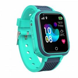 4G KIDDO Watch GELIKON LINE 3021 GPS Детские Умные-часы c GPS трекингом и мониторингом температуры, Голубой