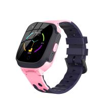 4G KIDDO Watch GELIKON LINE 3025 GPS, Детские Умные-часы c GPS трекингом, SOS-кнопкой и мониторингом температуры Розово-черный (Pink-Black)