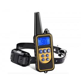 Электроошейник для дрессировки собак дистанционный водонепроницаемый Rechargeable And Waterproof, 3 типа воздействия 800 метров WG-4